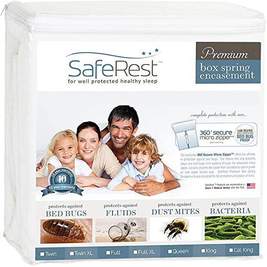 Protect-a-Bed Bed Bug-Proof box spring encasement Pick size FREE S//H