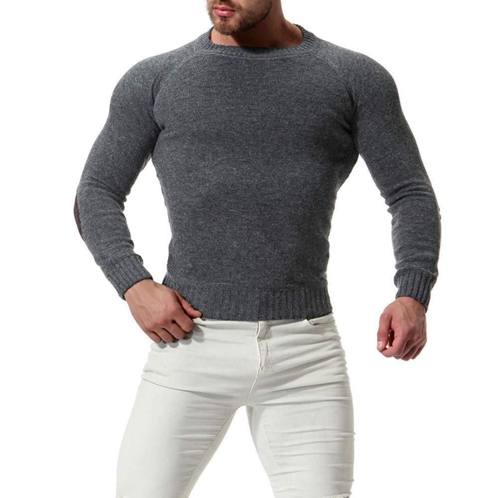 FEIDAO Männer Pullover Herbst Winter Pullover Männer Gute Qualität Langarm Herren Pullover Pullover Slim Fit