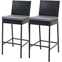 Dining Table and Chairs, Gardeon Outdoor Bar Set Bar Stool Chair