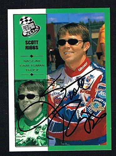 Scott Riggs #55 signed autograph auto 2002 Press Pass NASCAR Trading Card (Scott Nascar Riggs)