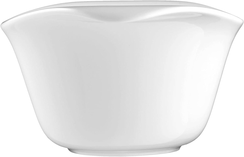 Eventbowl oval 5253 18 cm 4 St/ück Savoy weiss uni 00003 von Seltmann Weiden