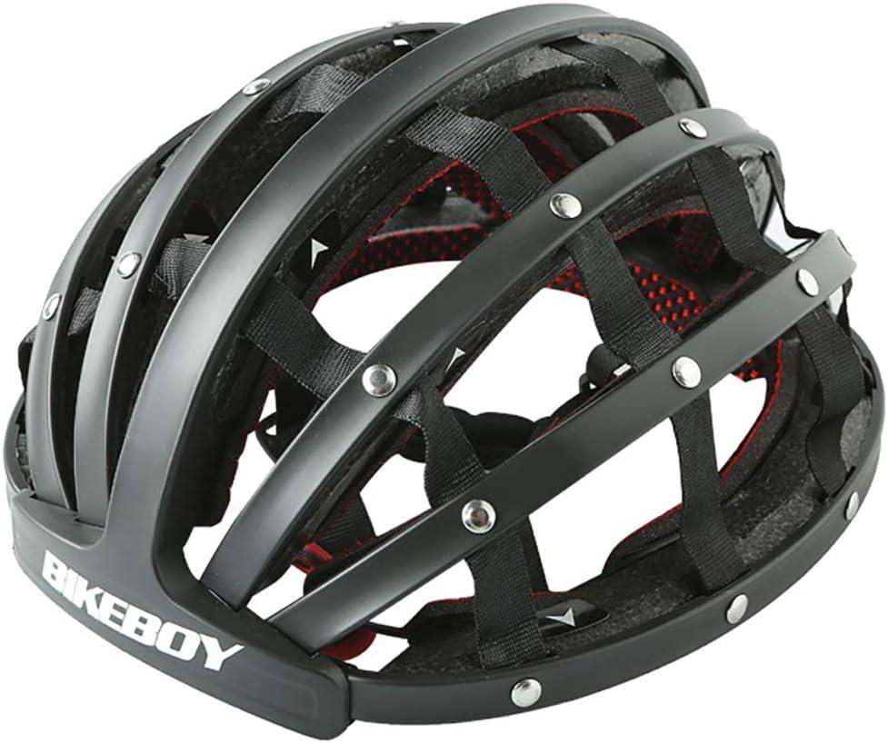 NVBXDF - Casco Plegable para Bicicleta (57-62 cm), diseño Urbano ...