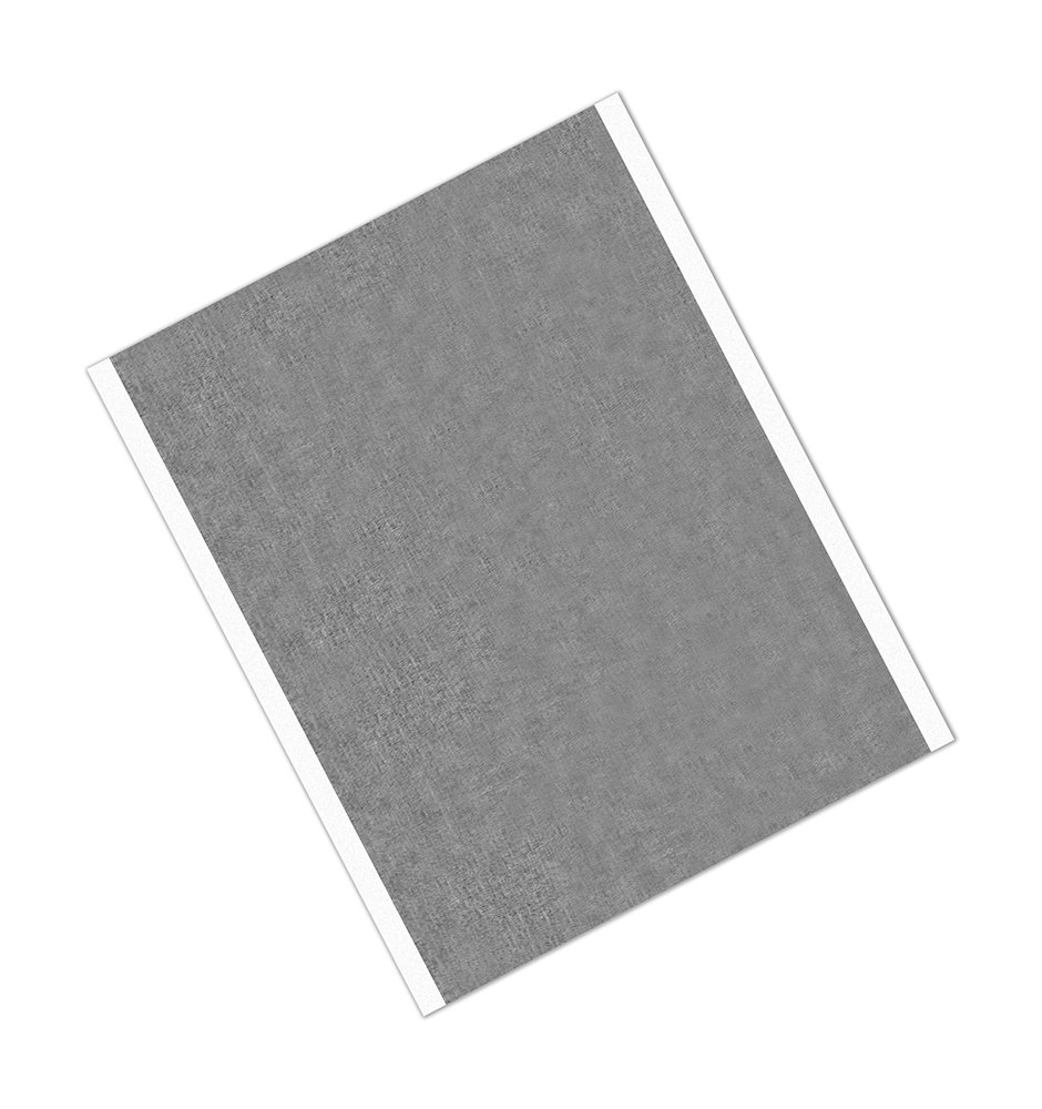 Cinta adhesiva de aluminio y acr/ílico de alta temperatura TapeCase 431 25 unidades 15,24 x 21,59 cm 15,24 x 21,59 cm color plateado