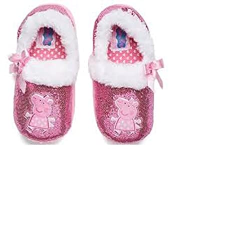 9d2c6bf18437 Peppa Pig Toddler Girls Slippers