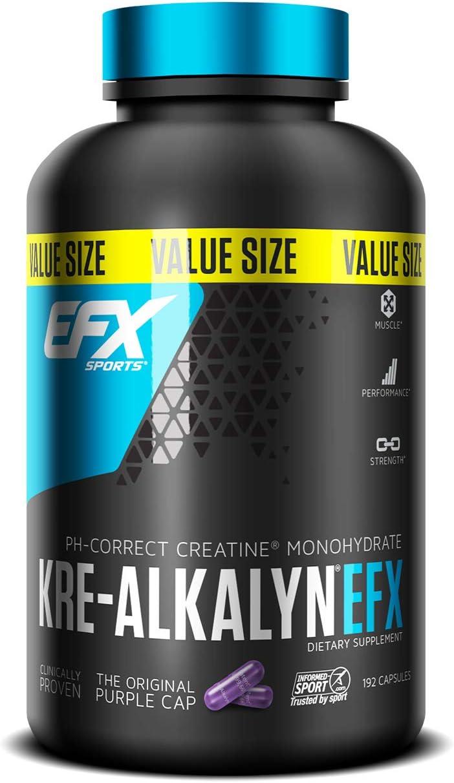 EFX Sports Kre-Alkalyn EFX - 192 caps 225 gr