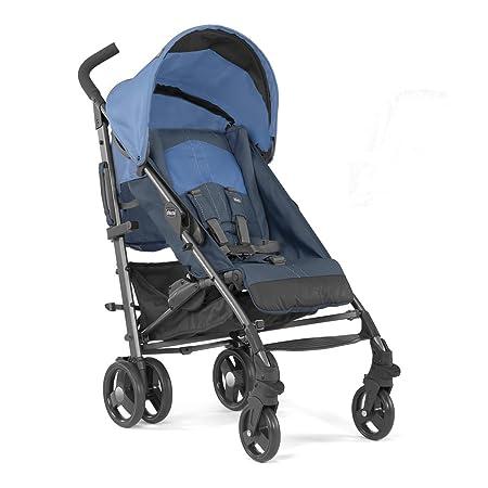 Chicco Lite Way2 - Silla de paseo ligera y compacta, 7 kg, color azul: Amazon.es: Bebé
