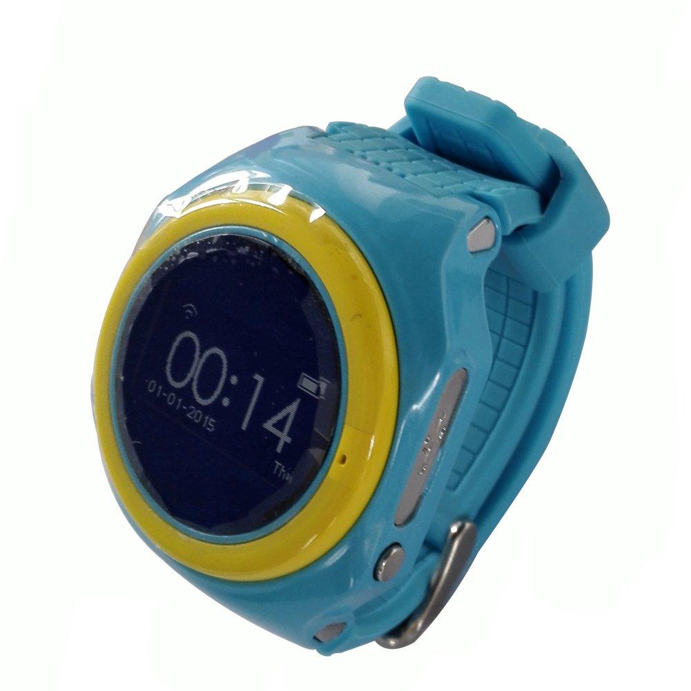 Los niños reloj inteligente para niños GPS Tracker Smartwatch Móvil ...