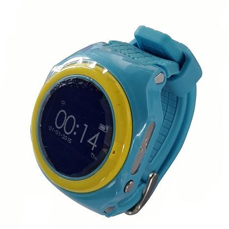 Los niños reloj inteligente para niños GPS Tracker Smartwatch Móvil con SIM Tarjeta Solt anti-