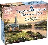 Kyпить Thomas Kinkade Painter of Light with Scripture 2018 Day-to-Day Calendar на Amazon.com