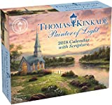 Thomas Kinkade Painter of Light with Scripture 2018 Day-to-Day Calendar