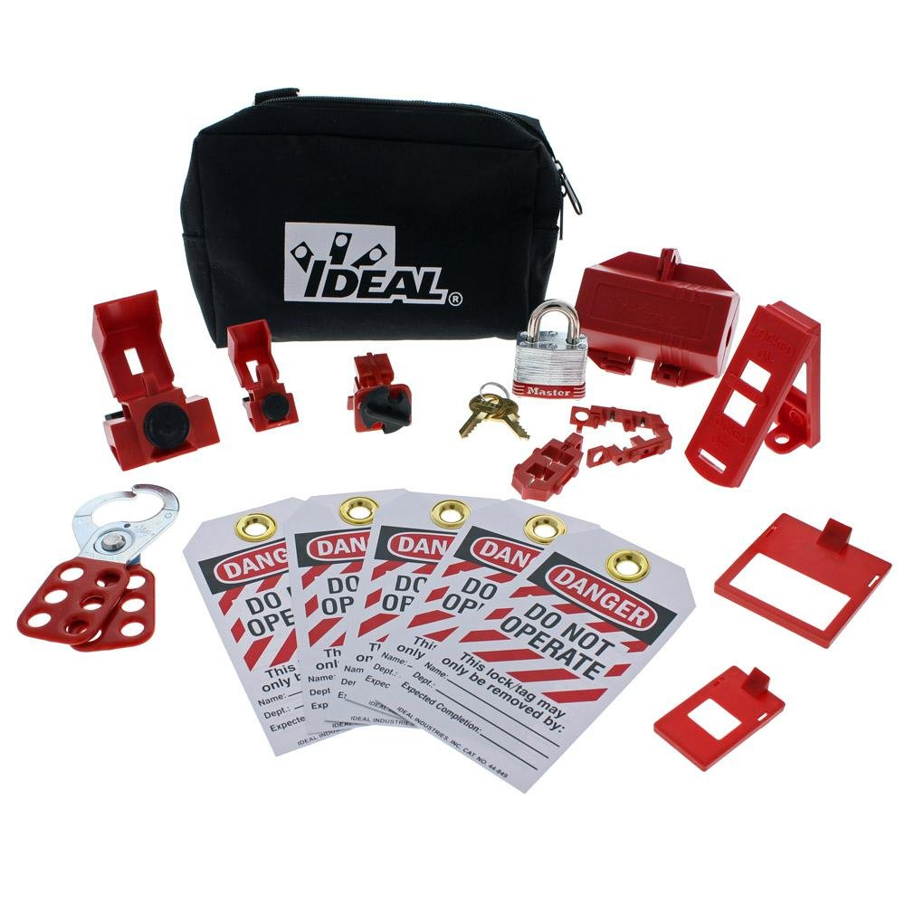 Toucan City Tool kit (9-piece) and Ideal Basic Lockout/Tagout Kit (15-Piece) 44-970 by Toucan City (Image #2)