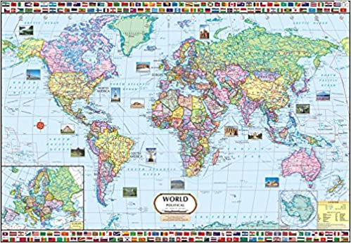 Buy world map 140 x 100 cm book online at low prices in india buy world map 140 x 100 cm book online at low prices in india world map 140 x 100 cm reviews ratings amazon gumiabroncs Images