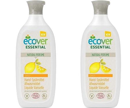 Ecover Essential - Lavavajillas (2 x 500 ml), color limón: Amazon ...