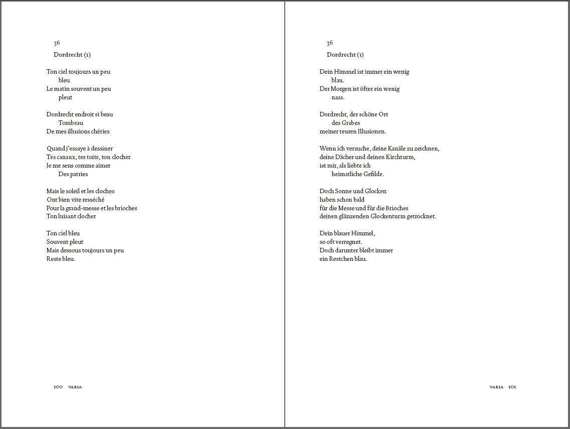 Les Poèmes Die Gedichte Französischdeutsch Amazoncouk