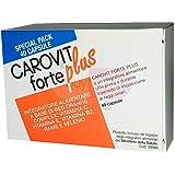 CAROVIT FORTE PLUS - Integratore Alimentare utile per la preparazione all'esposizione solare - SPECIAL PACK 40 CAPSULE PER OLTRE 1 MESE DI TRATTAMENTO