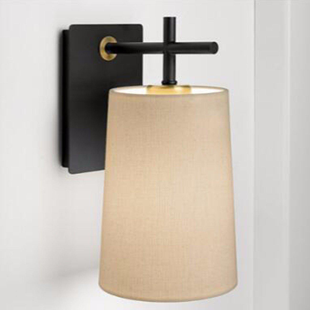 T-ZBDZ Tuch Abdeckung Wohnzimmer Schlafzimmer Nachttischlampe moderne Balkon Gang Treppe Wand Lampe Spiegel Scheinwerfer