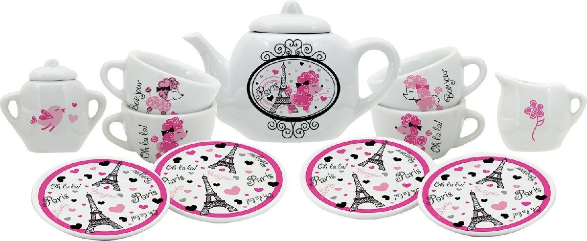 Schylling La Tea Da Porcelain Tea Set