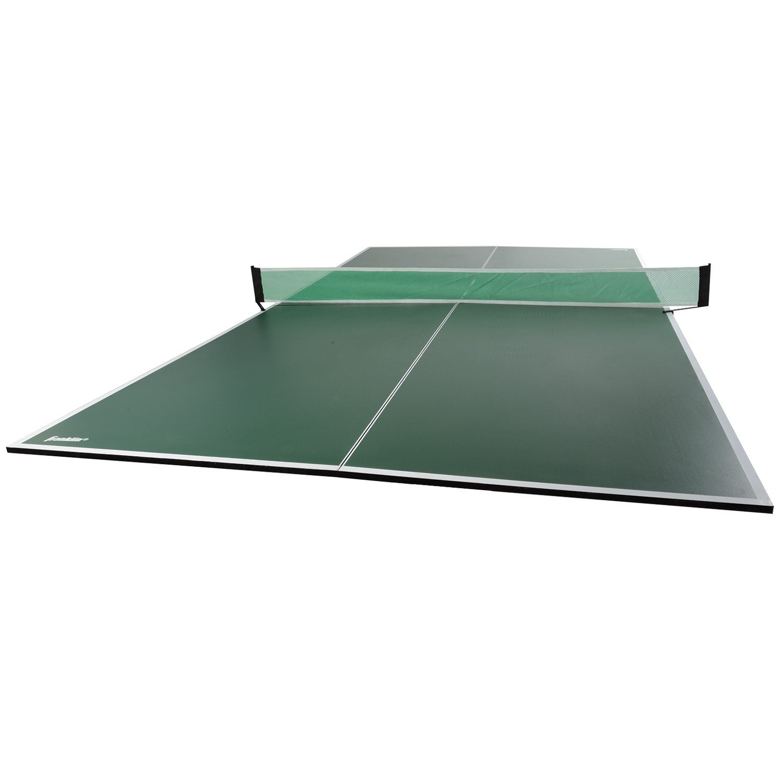 Amazon.com : Franklin Sports 4 Piece Table Tennis Conversion Top : Tabletop Table  Tennis Games : Sports U0026 Outdoors