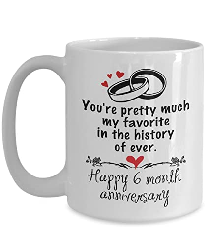 amazon com 6 month dating anniversary gifts for girlfriend from