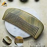 GuiXinWeiHeng (3pcs) Green sandalwood comb comb comb