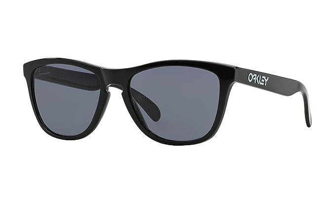 692a7828df9da Oakley Occhiali da sole Frogskin OO9013 - 24-306  Nero lucidato