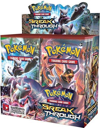 Pokemon XY8 Breakthrough Booster Box! - TCG English Card Game