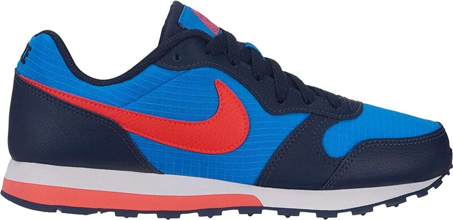 829eb1ce325a7 Nike Men s s Md Runner 2 (gs) Track   Field Shoes Multicolour (Photo  Blue Bright Crimson Obsidian White 412) 5.5 UK  Amazon.co.uk  Shoes   Bags