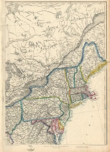 usa north east new england mid atlantic states ettling 1863
