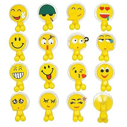 lecimo 5 amarillo Cute Cartoon figura soporte para cepillos de dientes con ventosa para niños