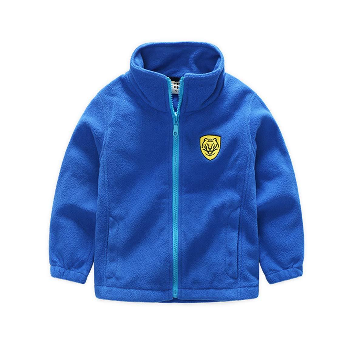 Midudu Kids Fleece Coat Jacket Long Sleeve Winter Outwear for 3-9 Years