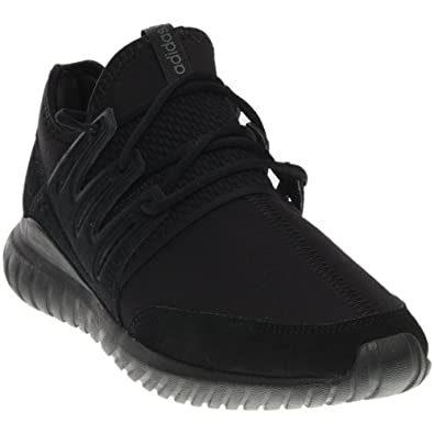adidas Tubular Radial Mens in Black/Black, 10