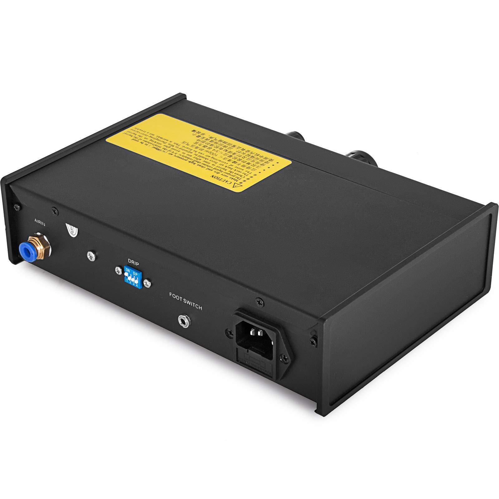 VEVOR Auto Glue Dispenser Dual Controller 24V DC Solder Paste Glue Dropper 982A Digital Display Solder Paste Liquid Controller Dropper Machine by VEVOR (Image #3)