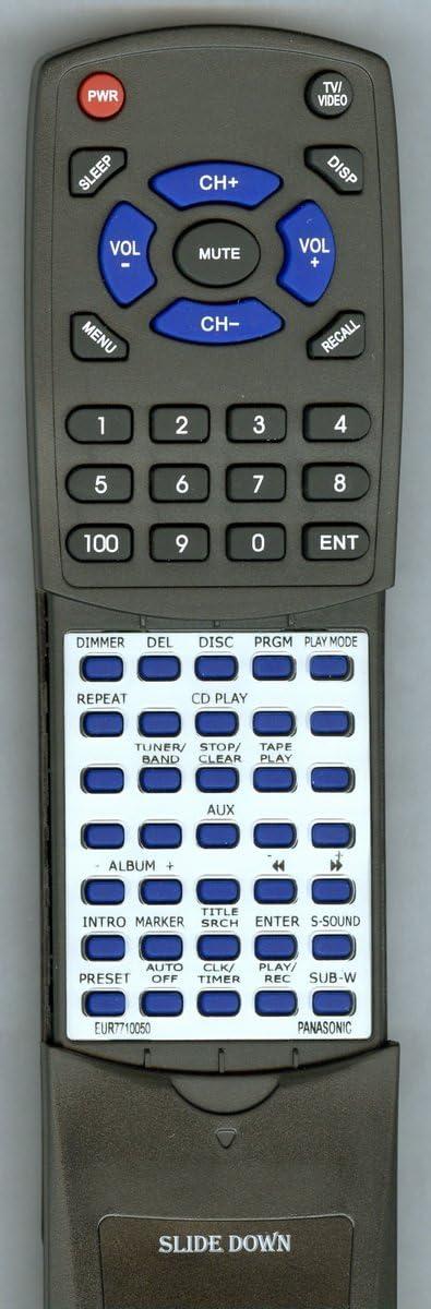 TeKswamp Remote Control for Panasonic SC-AK520
