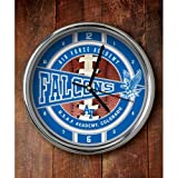 The Memory Company NCAA U.S. Air Force Academy Official Chrome Clock, Multicolor, One Size