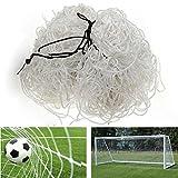 Bazaar Football Net 6x4ft Soccer Goal Post Straight Flat Back Post Net