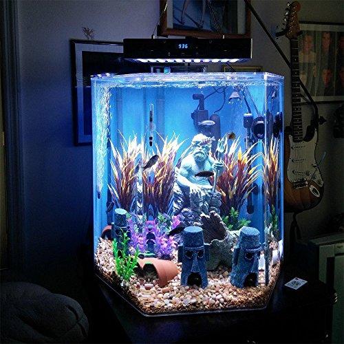 Viparspectra timer control 165w led aquarium light for Saltwater fish tank lights