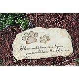 Outdoor Decor-Pet Devotion Garden Stone