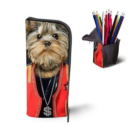 aomagic 3d animal print lápiz/bolígrafo casos vertical ...