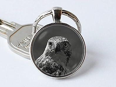 Eagle clave cadena llavero, diseño de pájaros talocha de ...