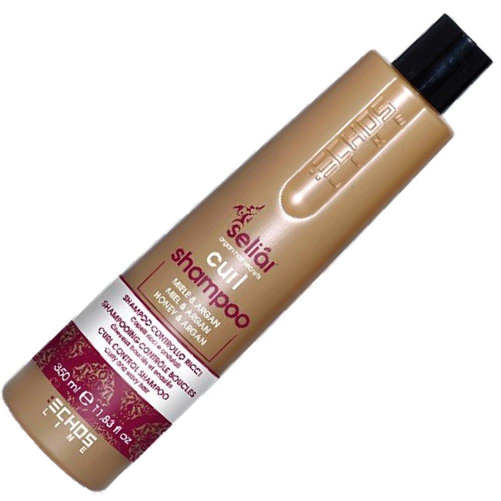 Curl Shampoo Control with Honey and Argan Oil 350ml Seliar ® shampoo controllo ricci con miele e olio di argan Echosline