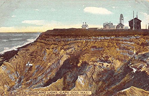 - Cape Cod Massachusetts Highland Light House Antique Postcard K88989