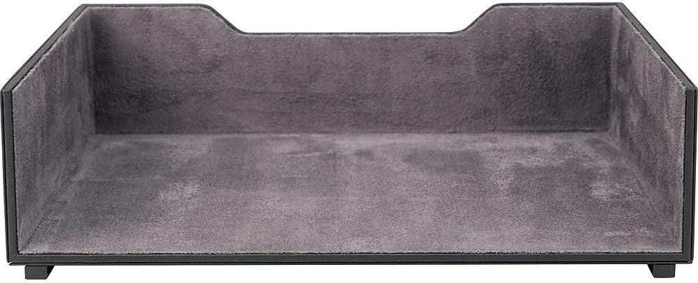 1.15 m Strip split leather 5 x 2 mm lined paper letter beigegreypink