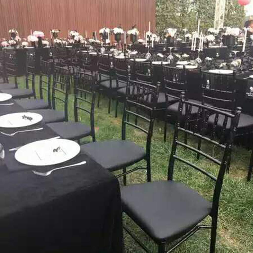 hoteles para taburetes de Silla de m/áximo 35 cm Bares para 28-35 cm Fiestas Color Negro Zeagro para Banquetes de Boda cafeter/ías el/ástica Funda para Silla de Comedor de Cocina de Licra