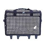 """BlueFig DS23 Wheeled Travel Bag 23"""" in Ebony"""