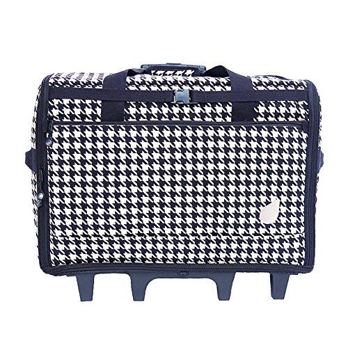 "BlueFig DS23 Wheeled Travel Bag 23"" in Ebony by Bluefig"