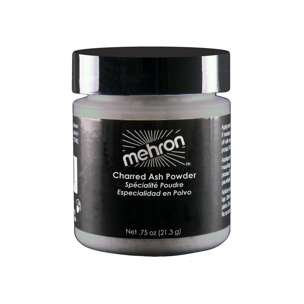 Mehron Makeup Special Effects Makeup Powder Charred Ash (.75 oz)