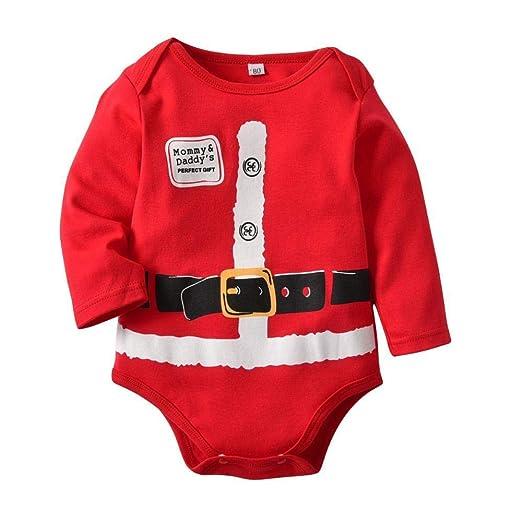 FLYWM Otoño Santa Claus Shape triángulo Manga Larga bebé ...