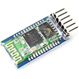 Wireless Serial 6 Pin Bluetooth RF Transceiver Module HC-05 RS232 With backplane