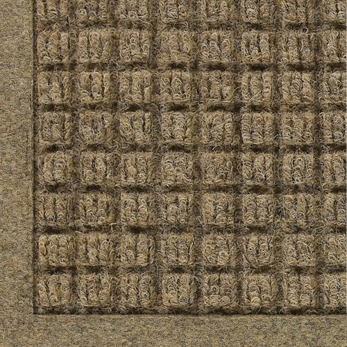 Thick Camel (Andersen 280 Waterhog ECO Elite Polypropylene Entrance Indoor/Outdoor Floor Mat, SBR Rubber Backing, 3' Length x 2' Width, 3/8