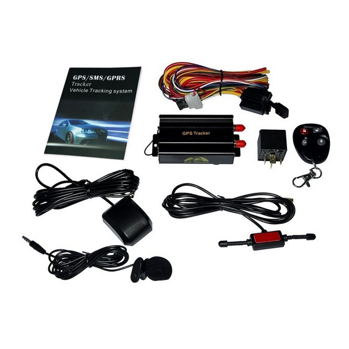 61gT6xfzHOL._SL1200_ amazon com redsun new gps sms gprs tracker tk103b vehicle Wiring Harness Diagram at mifinder.co